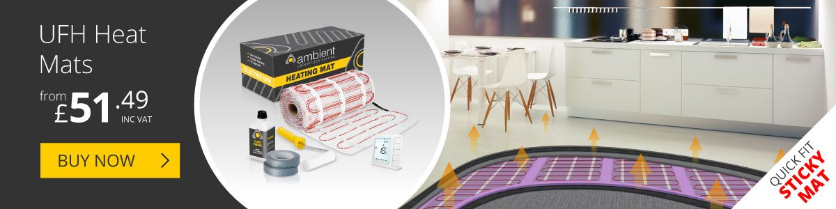 Electric Underfloor Heating Mats from Ambient Electrical