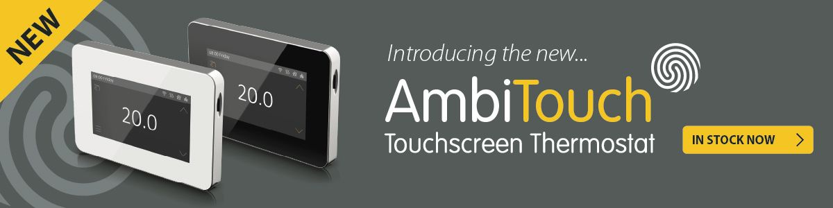 The new ProTouch V2 Thermostat from Ambient Electrical