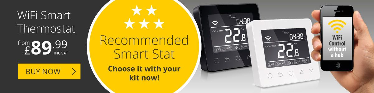 The Ambient Pro-Touch WiFi Thermostat is now available from Ambient!