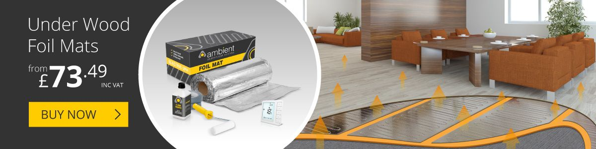 Electric Underwood Heating Mats from Ambient Electrical