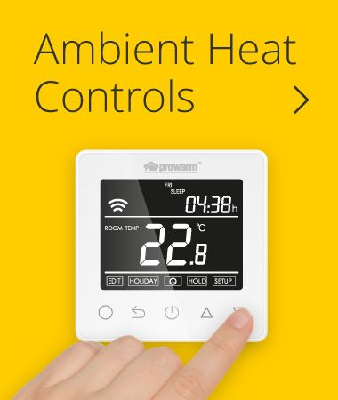 We have a great range of underfloor heating thermostats