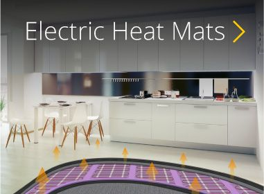 Great value electric underfloor heating mats