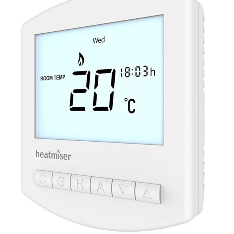 Heatmiser Slimline Thermostat for Electric Underfloor Heating
