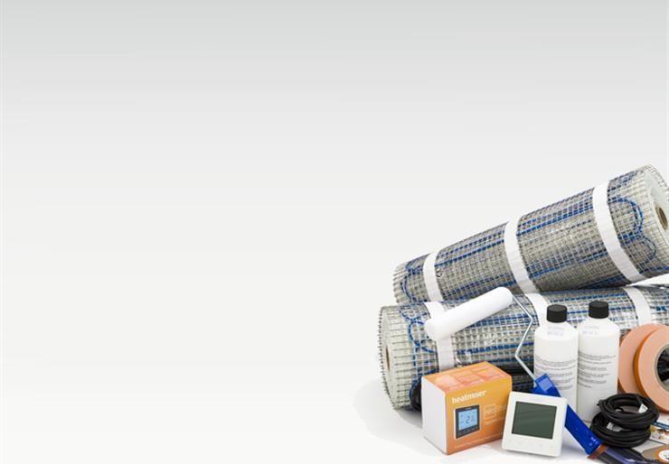 Electric Underfloor Heating | Underfloor Heating Kits and